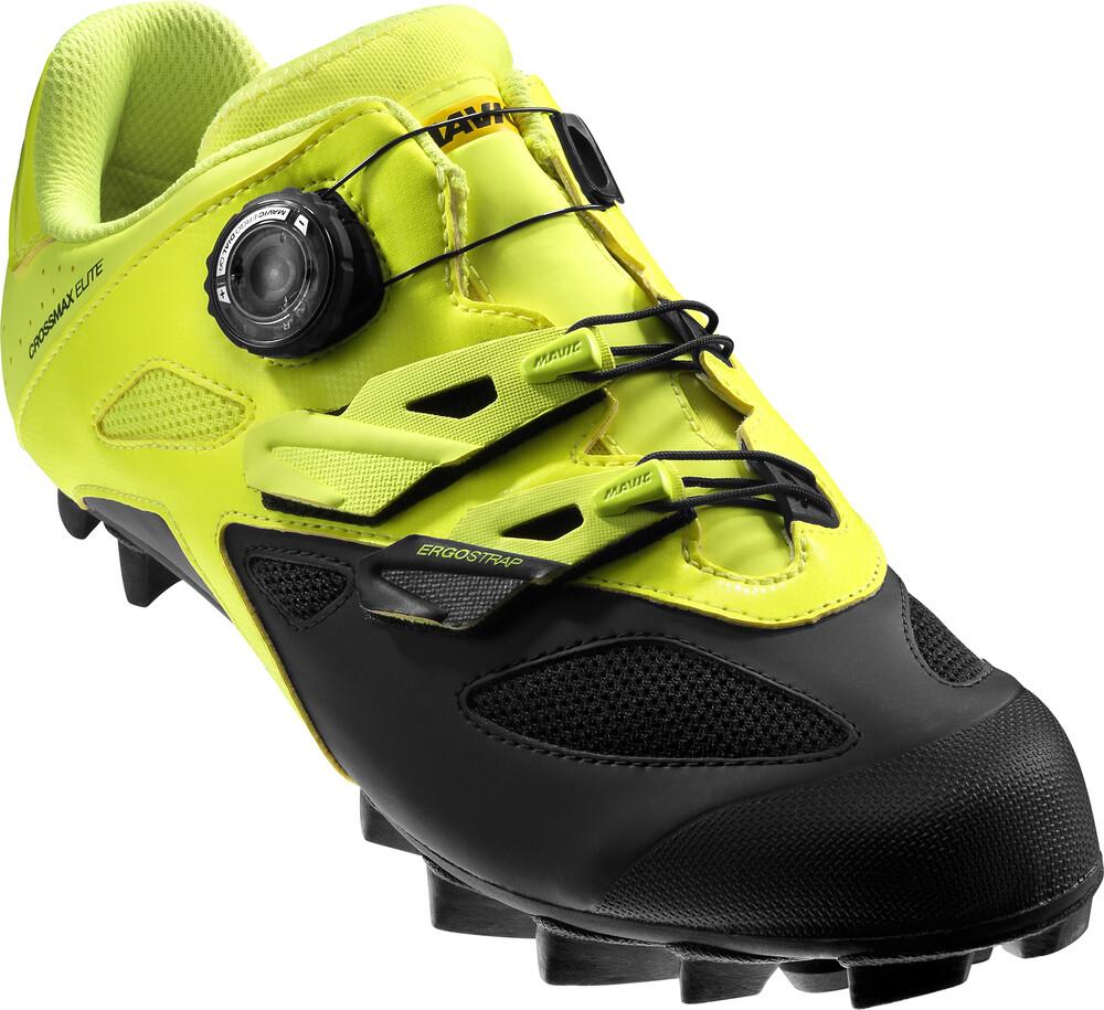 Chaussures Noires Avec Velcro Crossmax Mavic Pour Les Hommes OdpO0
